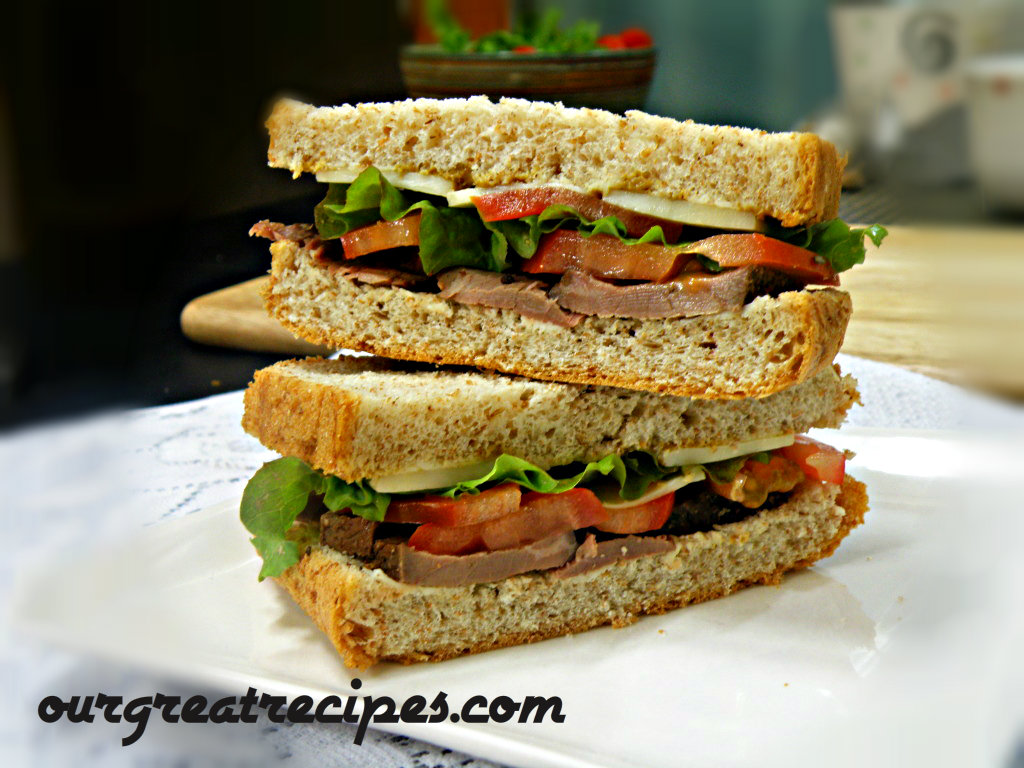 Perfect Roast beef Sandwiches