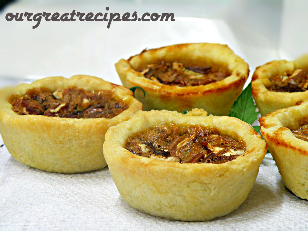 Great Pecan Butter Tarts
