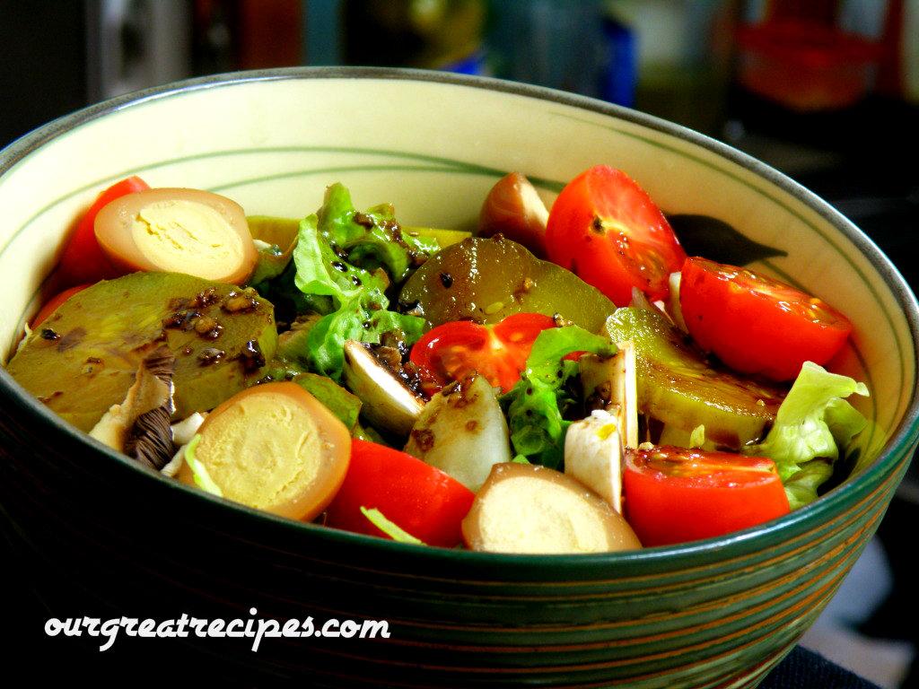 Dave's Easy Garden Salad