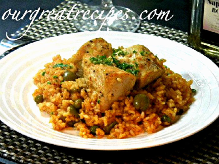 Chicken Arroz Con Pollo