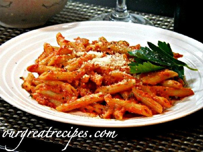 Penne Pasta With Bolognese Sauce Penne Pasta With Vodka Sauce