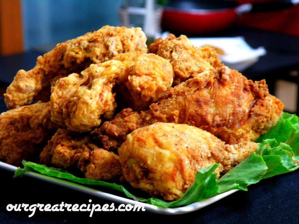 Southern Fried Chicken Recipe — Dishmaps