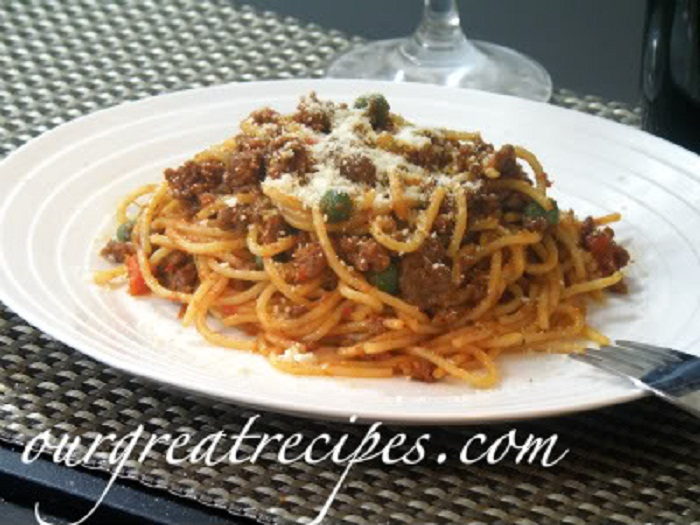 Spaghetti with Bolognese Sauce | Dave's Kitchen