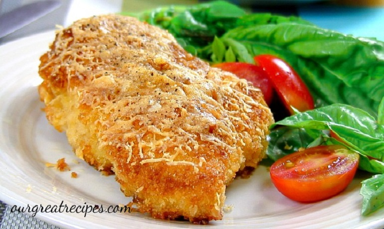 Parmesan Crusted Chicken | Dave's Kitchen