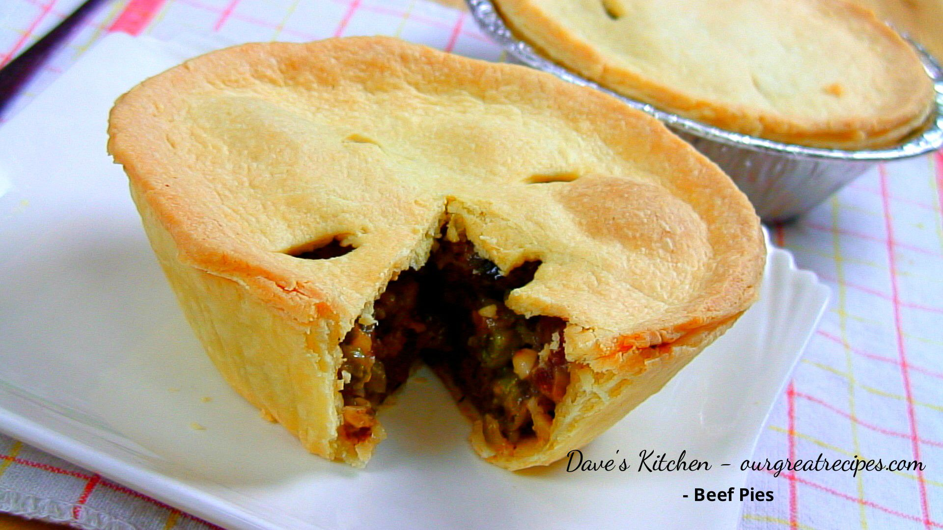 Homemade Beef Pies